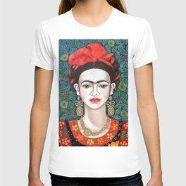 Frida - queen of hearts closer T-shirt