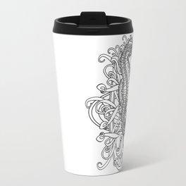 Seahorse and Curlicues Travel Mug