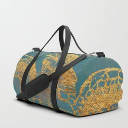 Deep Sea Life Turtle Duffle Bag