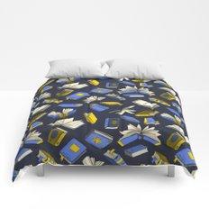 Spellbooks, blue Comforters