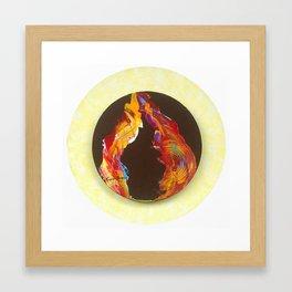 Chocolate & Toffee Framed Art Print