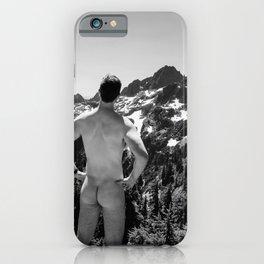 Mountain Backside iPhone Case