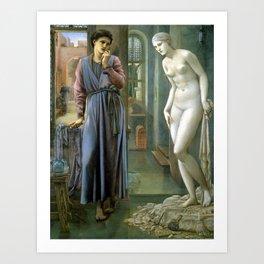 Edward Burne-Jones Pygmalion and the Image The Hand Refrains Art Print