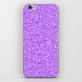Spacey Melange - White and Violet iPhone Skin