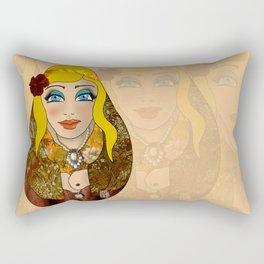 VanMoon Dika Rectangular Pillow