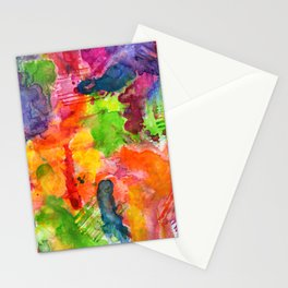 melodies of relief Stationery Cards