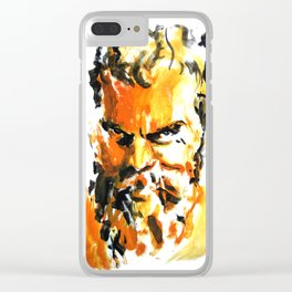 Orson Welles Clear iPhone Case