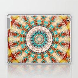 Southwestern Turquoise Orange Mandala Laptop & iPad Skin
