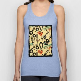 Jazz Rhythm (positive) Unisex Tank Top