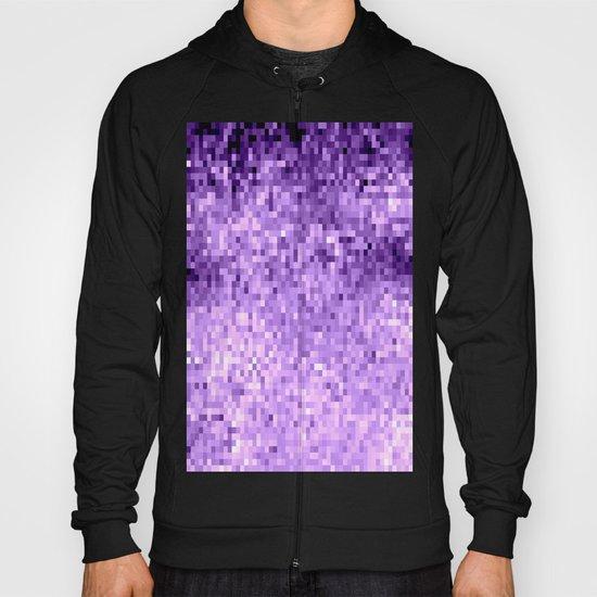 LavendeR Purple Pixels Hoody