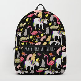 Funny Unicorn Party Backpack