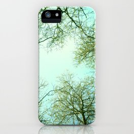 The sky  iPhone Case