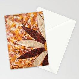 Always Be Joyfull Stationery Cards