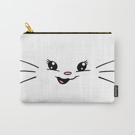 Gumdrop Joy Selfie - (with whiskers) Carry-All Pouch