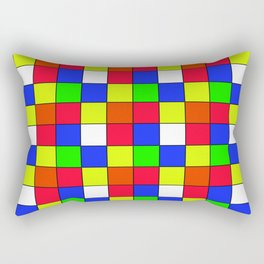 cubo rubik Rectangular Pillow