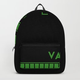 Valet Loading Backpack