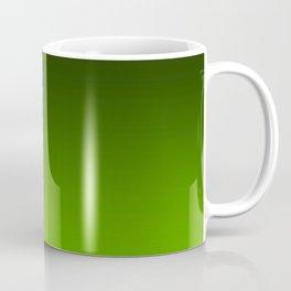 Ombre Lemon Green Coffee Mug