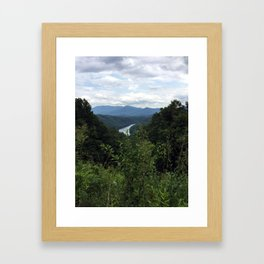 Great Smokey Mountains National Park Framed Art Print