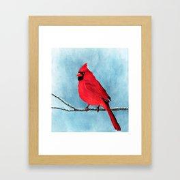 red looks good on me Framed Art Print