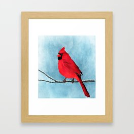 red looks good on me Framed Art Print