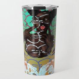 Carefree Black Girl Travel Mug