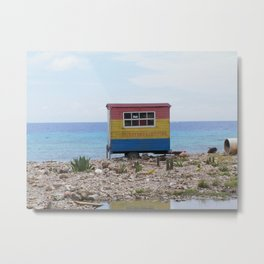 Welcome to Curacao Metal Print