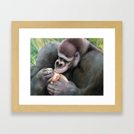 Kala and Tarzan Framed Art Print