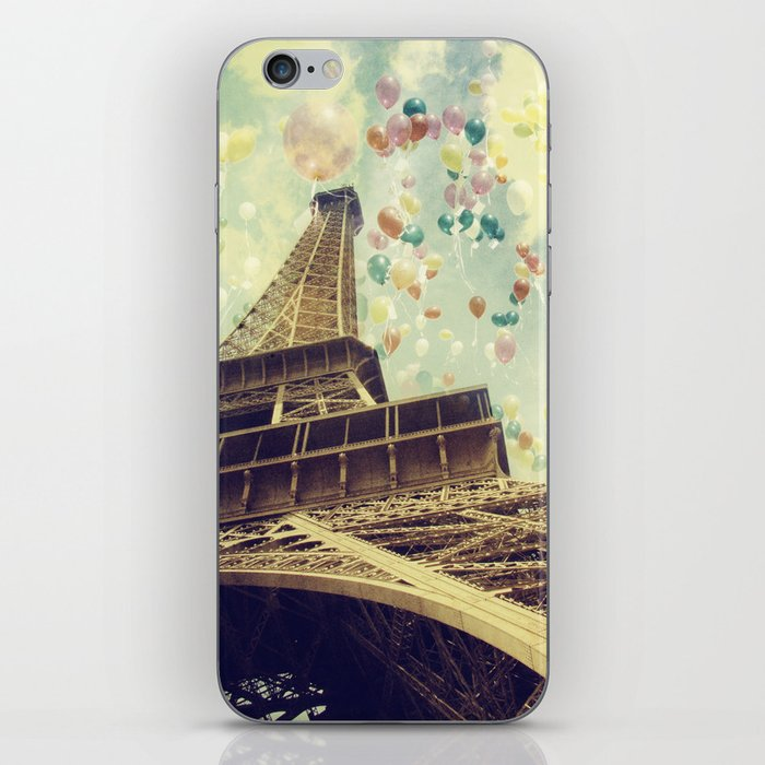 Paris is Flying iPhone Skin