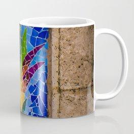 Mosiac Flower Coffee Mug