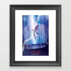Thor - The Dark World Framed Art Print