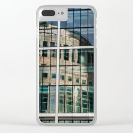 London Photography Canary Wharf Reuters Clear iPhone Case