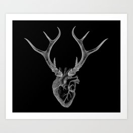 immortal heart Art Print