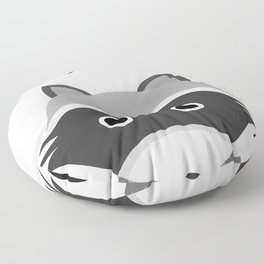 raccoon Floor Pillow
