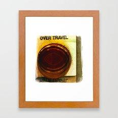 over travel 1 Framed Art Print
