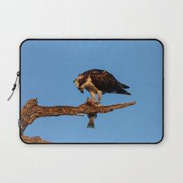 Osprey Eating A Fish | Wildlife Photography Laptop Sleeve