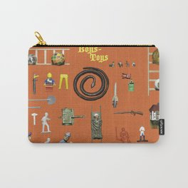BoysToys Orange (old fashion) Carry-All Pouch