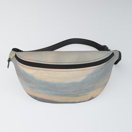 Sunset by Eugène Delacroix ca.1850, French Fanny Pack