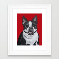 coco Framed Art Prints featuring Coco by Pawblo Picasso