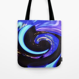 Swirling colors 01 Tote Bag