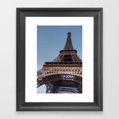 Eiffel Tower Paris Framed Art Print
