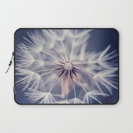 Dandelion Blue Laptop Sleeve