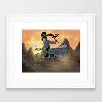 wiz khalifa Framed Art Prints featuring Diabolic Wiz by Ammo