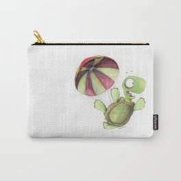 Falling Tortoise Carry-All Pouch