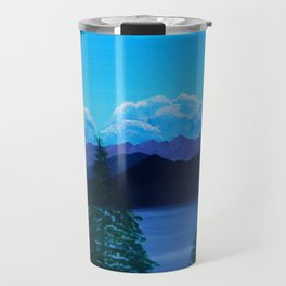 Sea to Sky Vancouver BC Travel Mug