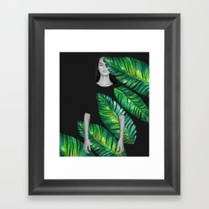 LeafGurl Framed Art Print