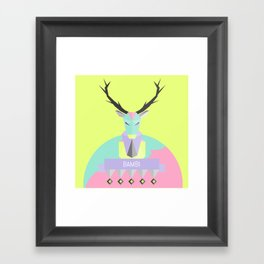 Our lovely pets 1 Framed Art Print