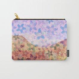 Glenshee Desert Flowers Carry-All Pouch
