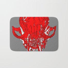 Fox Skull Bath Mat