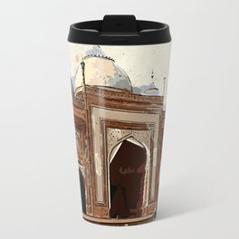 Agra taj mahal india palace Travel Mug