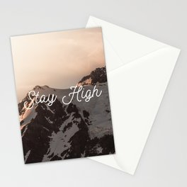 Stay High - Mt Shuksan Stationery Cards